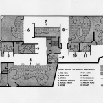 Aquatic Birds House floor plan. WCS Photo Collection