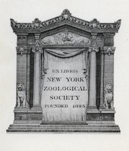 NYZS Bookplate, 1919