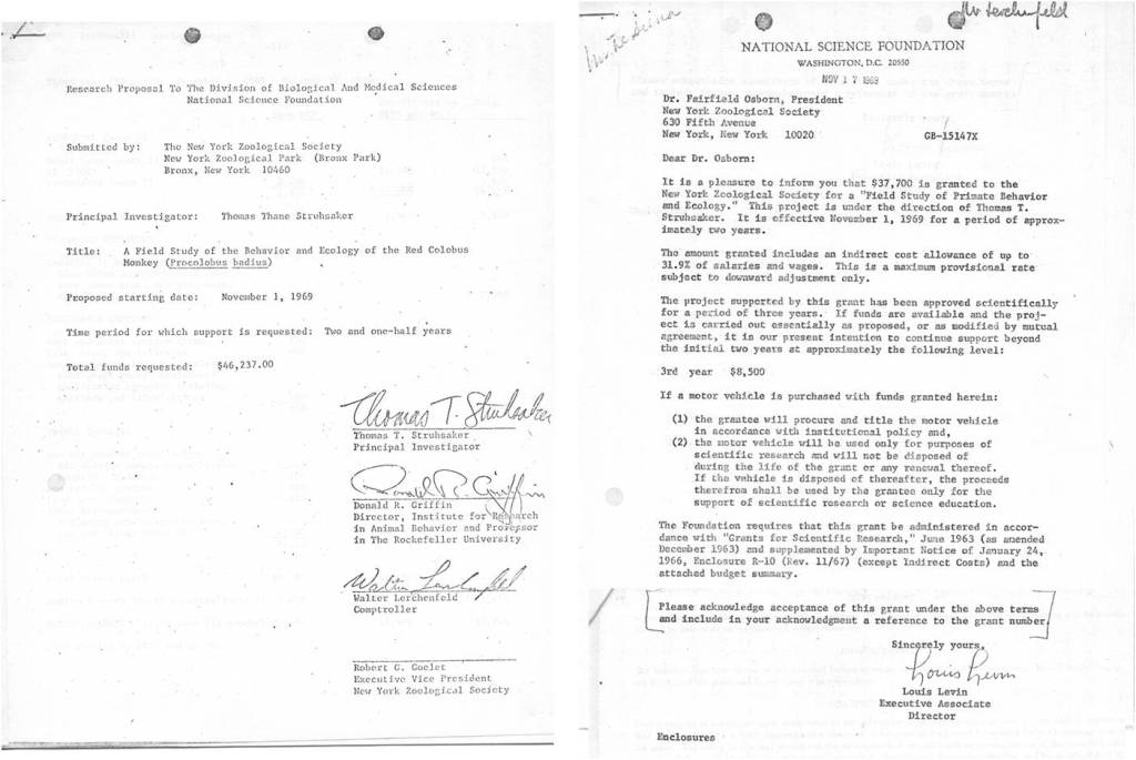 4062-04-03-1969-Struhsaker-NSFGrantProposal 4062-04-03-1969-11-17-Levin-Osborn