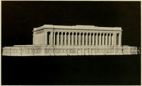 "Model of ""The Aquarium of Our Dreams."" Scanned from NYZS Bulletin, March 1915."