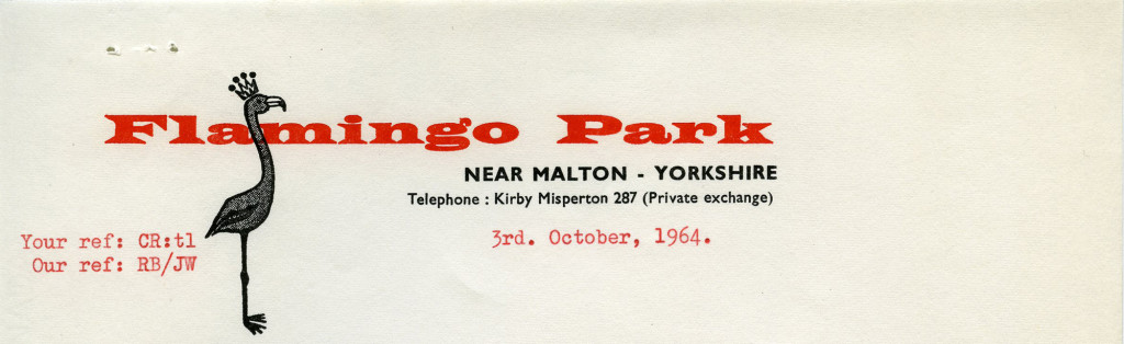 "Flamingo Park [""Near Malton,"" Great Britain] – 1964"