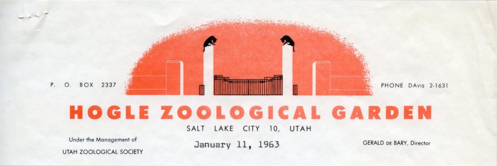 Hogle Zoological Garden [Salt Lake City, UT], 1963