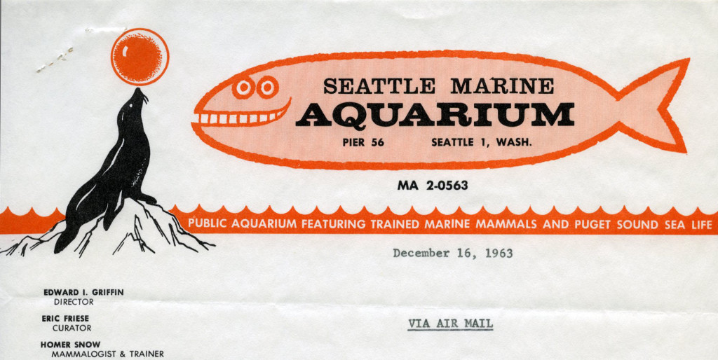 Seattle Marine Aquarium, 1963