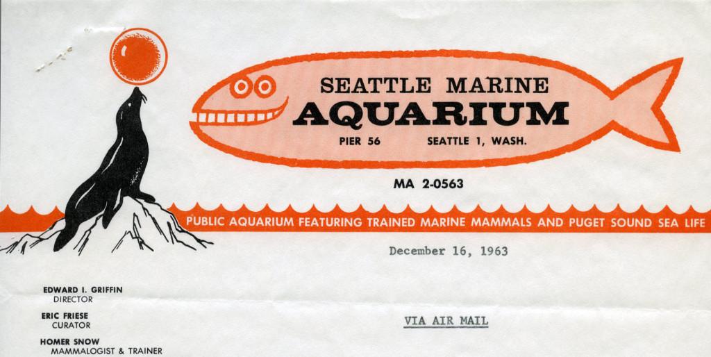 Seattle Marine Aquarium, 1963