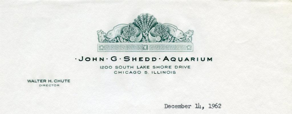 John G. Shedd Aquarium, December 1962