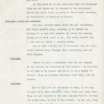 12 – 4. Script relating to a public demonstration at the electric eel exhibit, circa June 1940. Scanned from WCS Archives 1939-1940 New York World's Fair records.